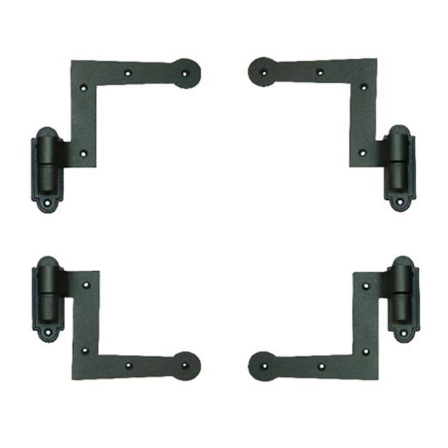 Wood Shutter Hardware 30-14-88510 New York Style Hinge Kit, 1.5 in. - Black - image 1 de 1