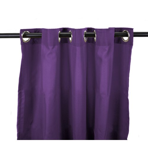 Jordan Manufacturing Outdoor Single Curtain Panel