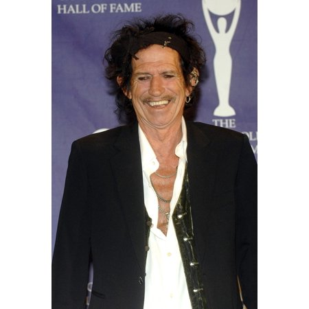 Keith Richards In The Press Room For Induction Ceremony Rock And Roll Hall Of Fame Waldorf-Astoria Hotel New York Ny March 12 2007 Photo By George TaylorEverett Collection