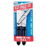 EZ-DUZ-IT 3028 Deluxe Can Opener with Grips, Black