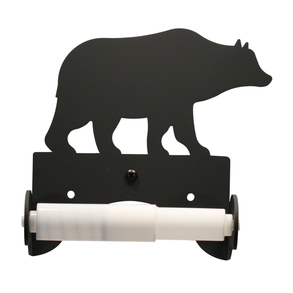 """Bear - Toilet Tissue Holder EACH 6 1/2 In. x 6 1/4 In. x 3 1/2 In."""