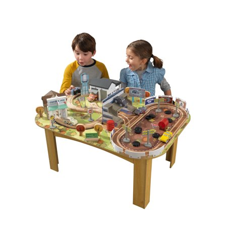 Disney Pixar Cars 3 Thomasville Track Set Table By Kidkraft