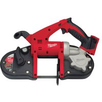 Milwaukee 2629-20 Cordless Band Saw, 3-1/4 in Cutting, 1-Speed