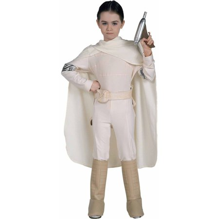 Star Wars Padme Amidala Deluxe Child Halloween Costume - Queen Padme Amidala Costume