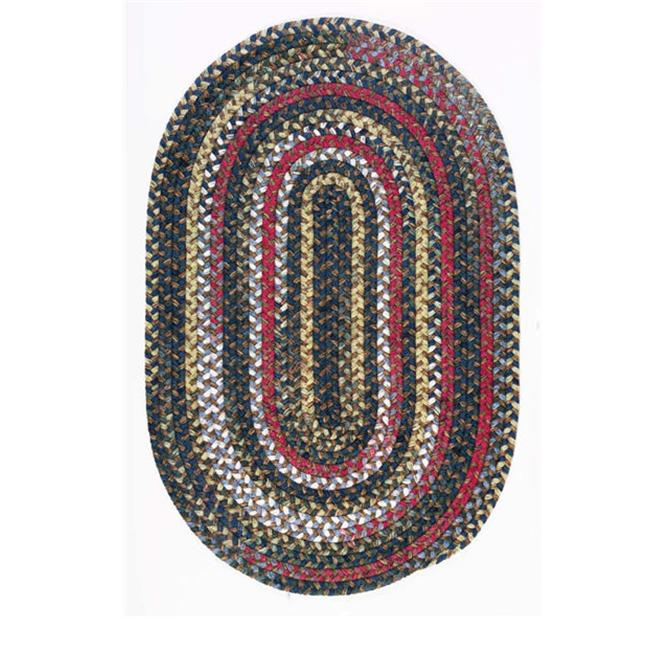 Chestnut Knoll CK77R120X120 Chestnut Knoll - Amber Red 10 ft. round Rug - image 1 of 1