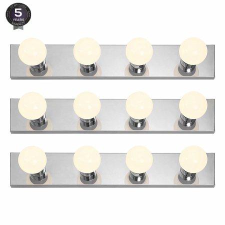 LEONLITE LED Vanity Strip Light Base, E26 Medium Base, Pack of (Mission Vanity Strip)