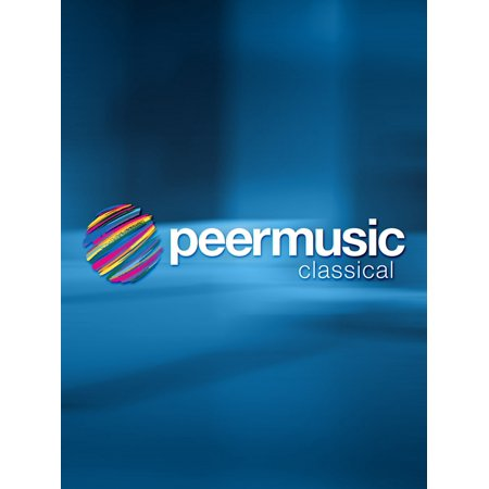 Peer Music Cinco Canciones Negras Peermusic Classical Series Composed By Xavier Montsalvatge