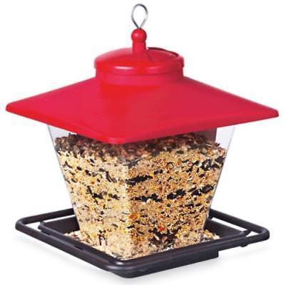 Audubon Hopper Cafe Bird Feeder Easy To Fill Swivel Top