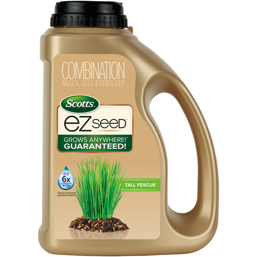 Scotts EZ Seed Tall Fescue Lawns Combination Mulch, Grass Seed & Fertilizer, 3.75 lbs