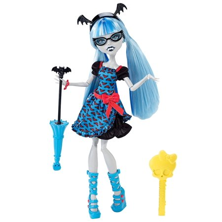 Freaky Fusion Ghoulia Yelps Doll, Fusion is all the rage and Ghoulia Yelps has been inspired by beast friend forever Draculaura By Monster High](Monster High Clearance)
