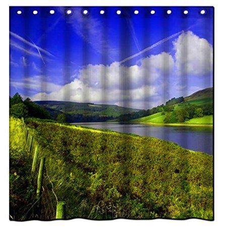 XDDJA Scenic Places of historic Shower Curtain Waterproof Polyester Fabric Shower Curtain Size 60x72 inches - image 1 of 1