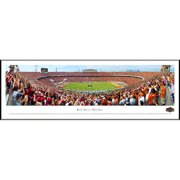 Blakeway Worldwide Panoramas, Inc NCAA Red River Rivalry - End Zone by James Blakeway Standard Framed Photographic Print