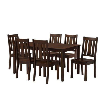 Better Homes And Gardens Bankston Dining Table Mocha
