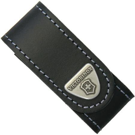 Leather Belt Pouch Black