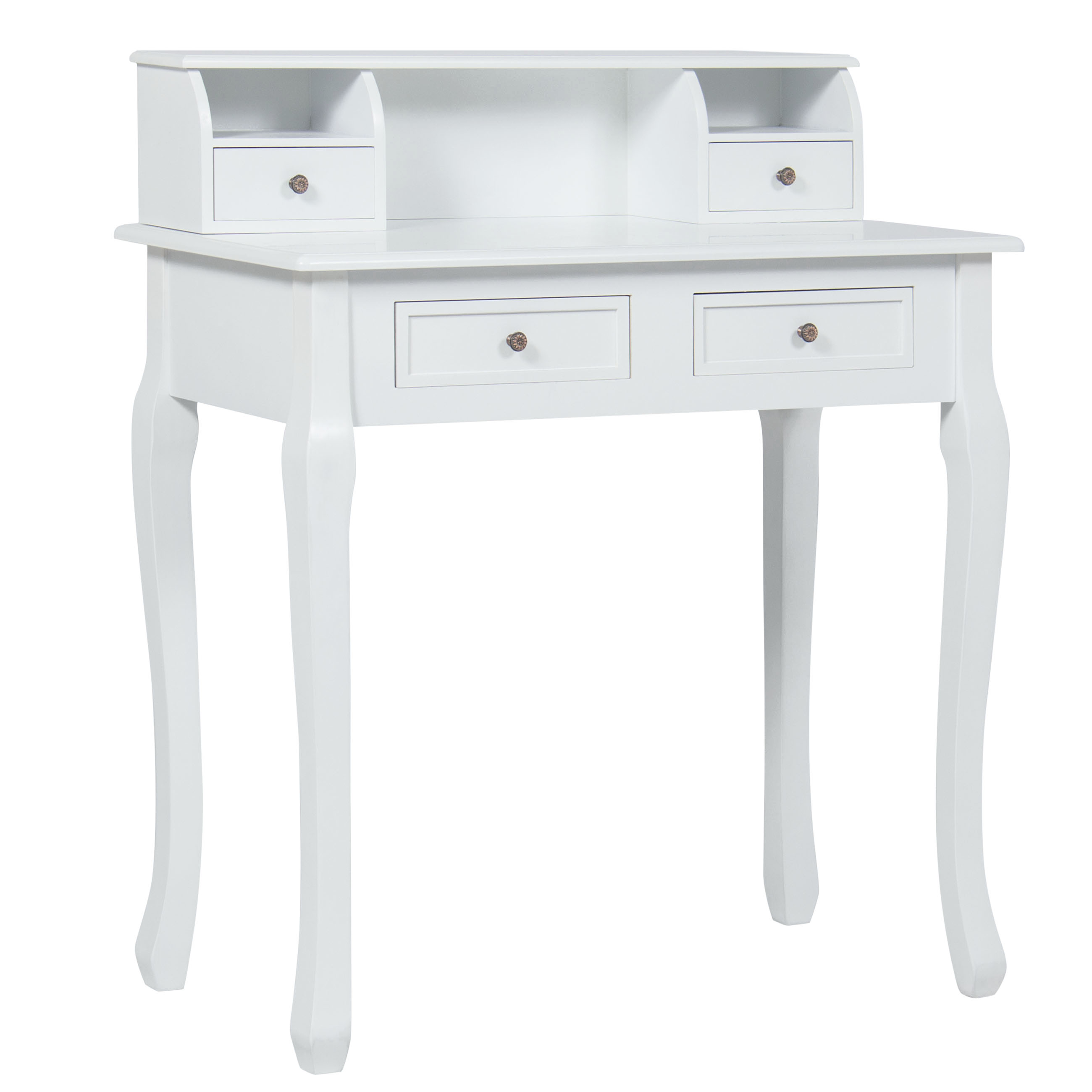 Bon Best Choice Products Home Office Furniture Writing Desk Work Station  Computer Laptop Table , White
