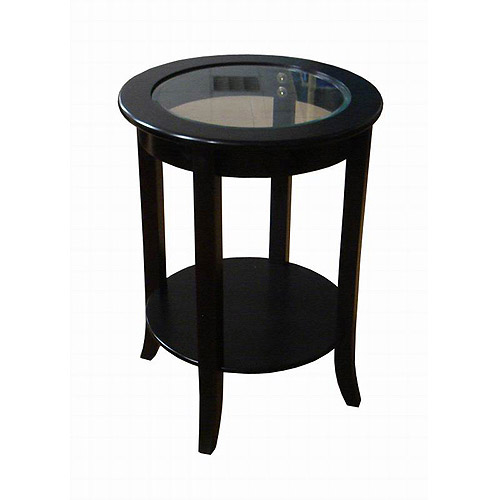 Better Homes And Gardens Round Accent Table, Espresso