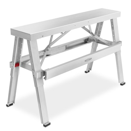 Edsal Adjustable Workbench (gyptool adjustable height drywall taping & finishing walk-up bench: 18 in. - 30 in. )