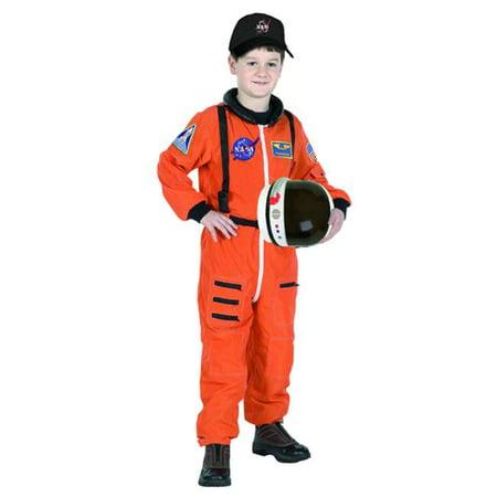 Suit Aeromax astronaute AS0-46 Junior avec la taille Brod-e 4/6 d'orange - image 1 de 1