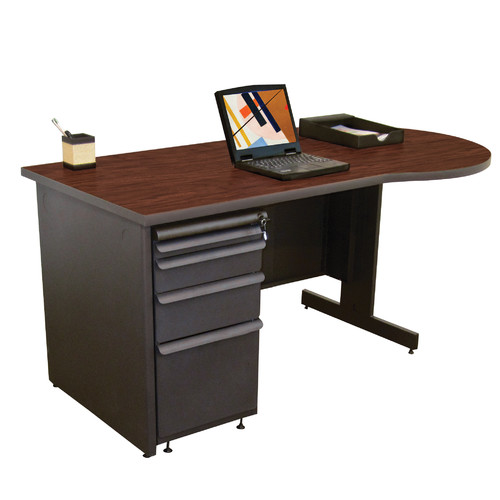 Marvel Office Furniture Zapf Peninsula Computer Desk