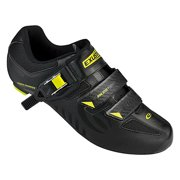 Exustar Cycling Road Shoes SPD-SL SR4112 42 Bk/Gn