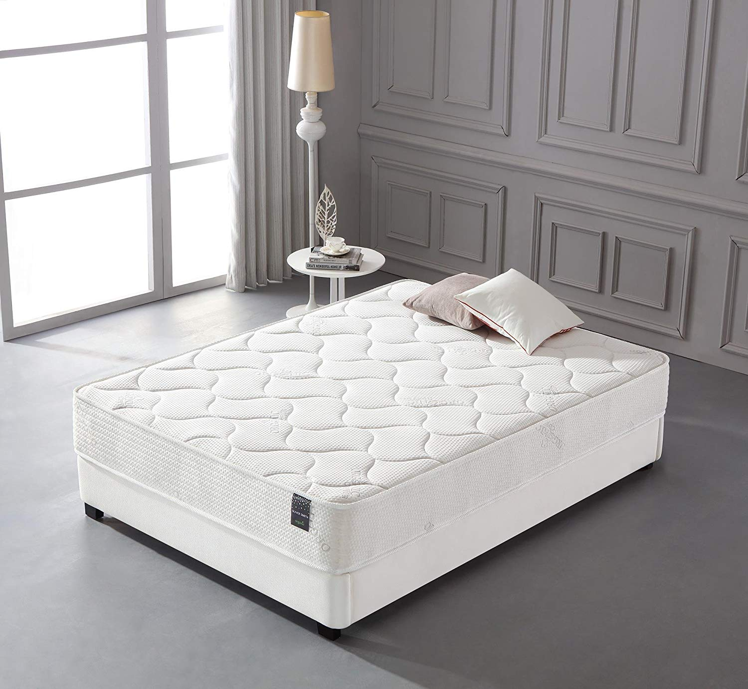 10 inch Memory Foam and Spring Hybrid Queen Size Mattress
