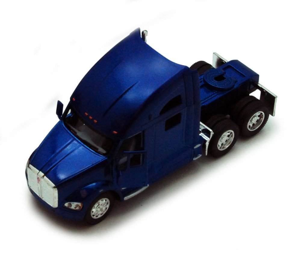 Kenworth T700 Tractor, Blue Kinsmart 5357D 1 68 scale Diecast Model Toy Car (Brand but NOT... by Kinsmart