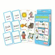 Junior Learning Decoding Flashcards, CVC, Vowels and Blends