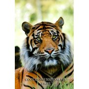 Cool Image Journal #18: Tiger (Blank Pages): 200 Page Journal