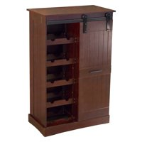Northbeam Oxford Bar Cabinet, Dark Oak