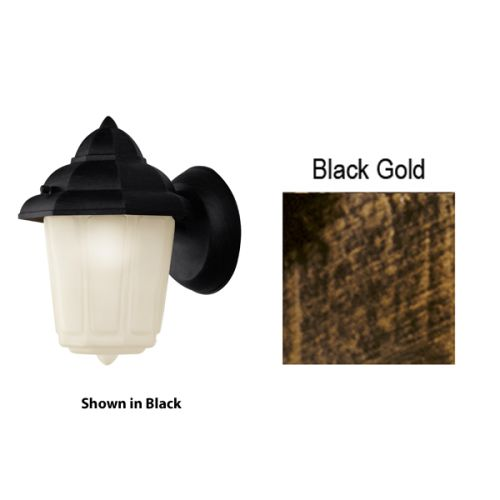 Trans Globe Lighting 4160 1-Light Down Lighting Small Outdoor Wall Sconce from the Outdoor Collection