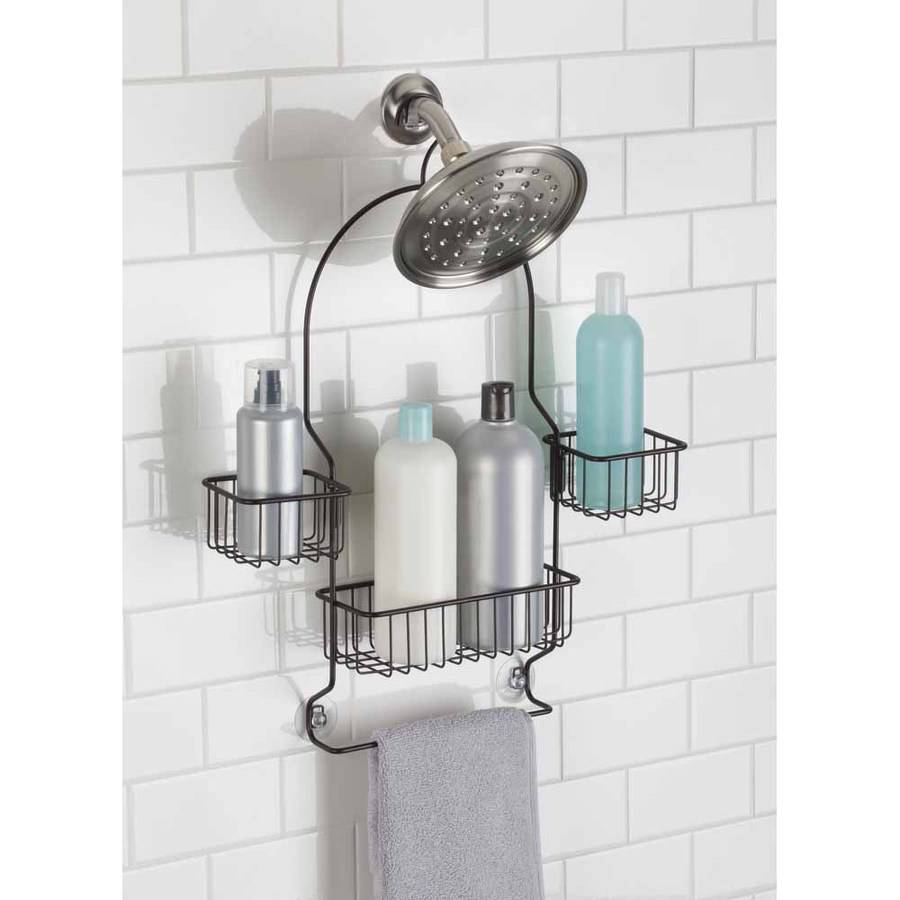 InterDesign Metalo Swing Shower Caddy, Bronze by INTERDESIGN