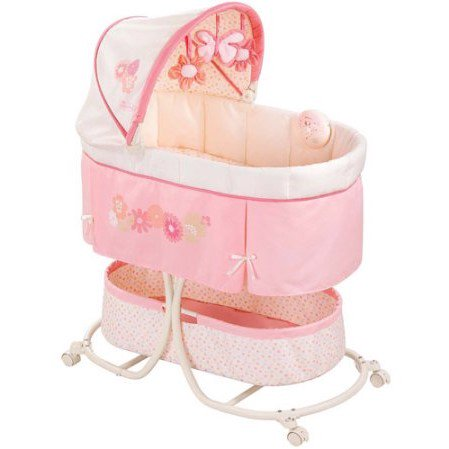 Summer Infant Soothe & Sleep Bassinet, Lila