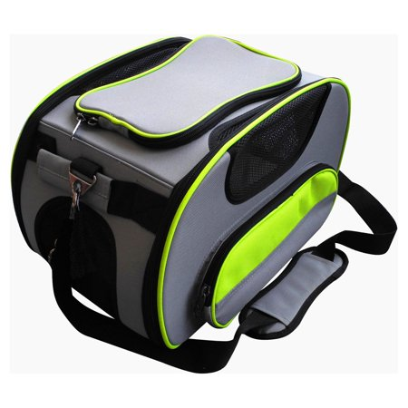 Pet Life Airline Approved Sky Max Modern Collapsible Pet Carrier