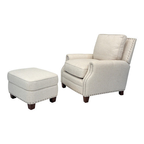 Opulence Home Bradford Chair and Ottoman