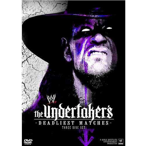WWE-UNDERTAKERS DEADLIEST MATCHES (DVD/3 DISC/FF 1.33/DOLBY 5.1)