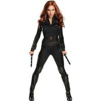 S/W Black Widow Adult Halloween Costume