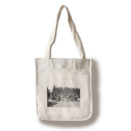Drewry's Bluff, VA - Heavy Artillery Officers at Ft. Darling Civil War Photograph (100% Cotton Tote Bag - Reusable)