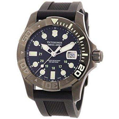 Victorinox Dive Master - Men's 241426 'Dive Master' Black Stainless Steel Watch