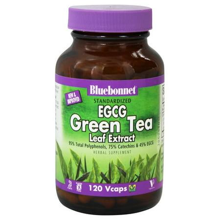 Bluebonnet Nutrition - Standardized EGCG Green Tea Leaf Extract - 120 Vegetarian Capsules ()