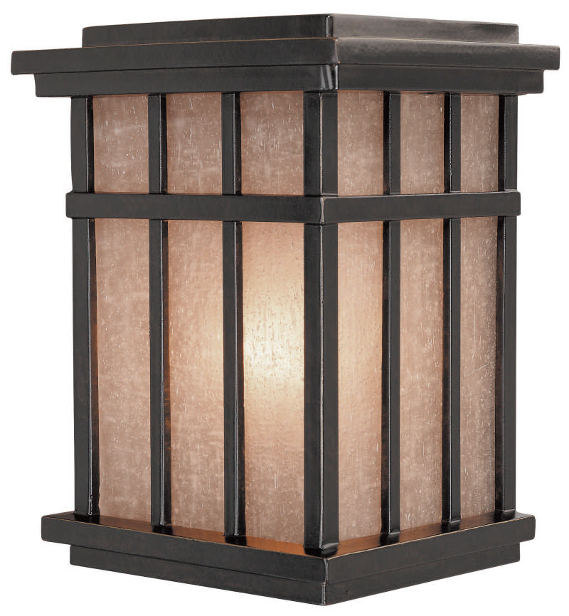 Dolan Designs 9142 Craftsman / Mission 1-Light Outdoor Wall Sconce from the Freeport Collection