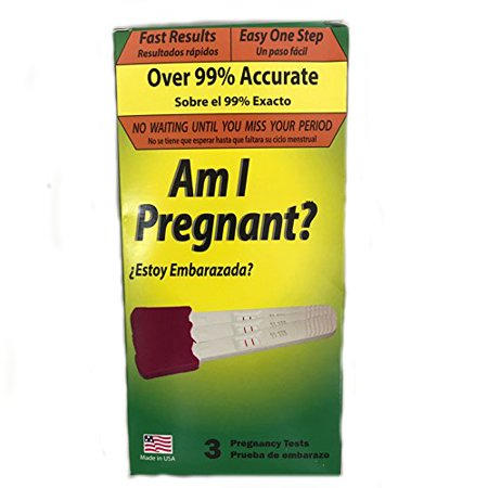 Am I Pregnant? 3 Pregnancy Tests One Step With Fast Results Over 99% (Best Time To Get Accurate Pregnancy Test Results)