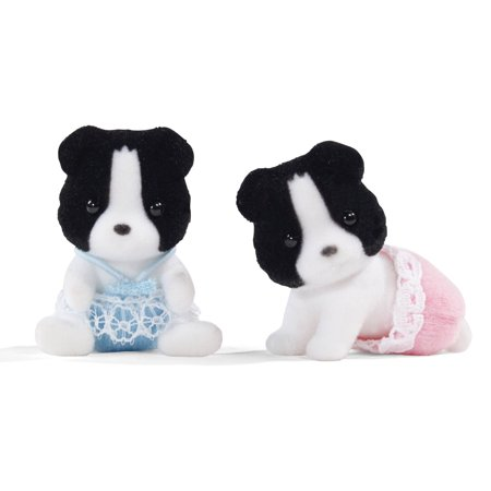 International Playthings Calico Critters Border Collie Twins
