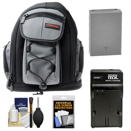 30786de55216 Precision Design PD-MBP ILC Digital Camera Mini Sling Backpack with BLN-1  Battery   Charger + Kit for Olympus OM-D E-M1 II