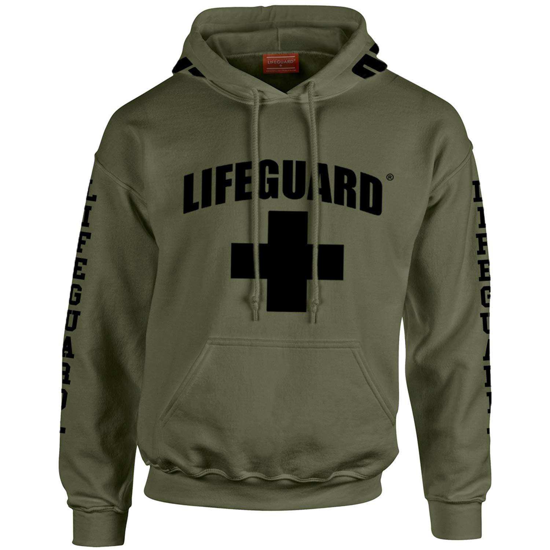 Lifeguard T Shirt Vest Hoody Sweatshirt Strappy Top Hoodie sweater