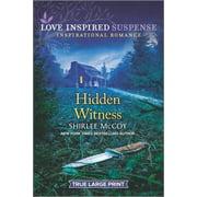 Love Insp Susp True LP Trade: Hidden Witness (Paperback)(Large Print)
