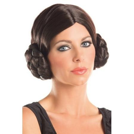 Galactic Princess Wig WG663 Raveware Brown - Princess Belle Wigs For Adults