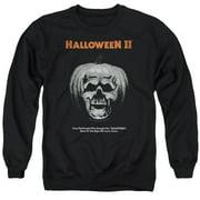 Halloween II Pumpkin Poster Mens Crewneck Sweatshirt