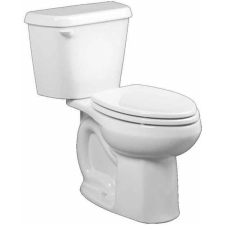 (American Standard 221CA.004.020 Colony Elongated Two-Piece 1.6 GPF Toilet with 12