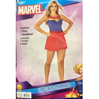 Rubies Costume Co. Captain Marvel Tank Dress Woman's Med