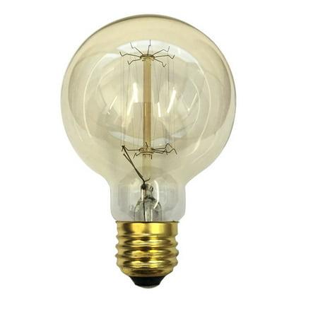 Antique 60w Globe G25 Vintage Style 120v Incandescent Light